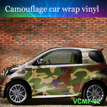 Best selling 5ftx33ft 1 52mx10m Car wrap Vinyl digital camouflage car wrap film with air drain