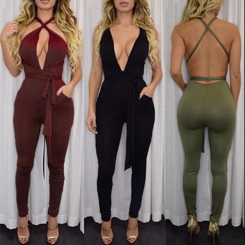 Beautiful ZANZEA Fashion 2016 Autumn Rompers Womens Jumpsuit Vintage Solid