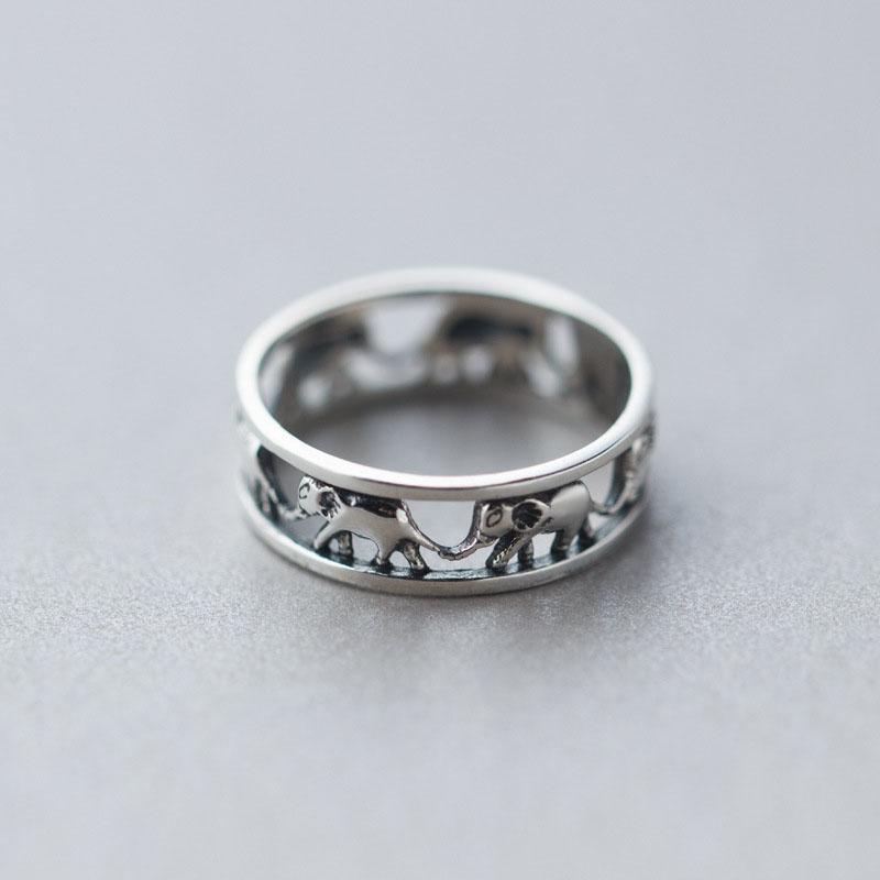 Popular Sterling Silver Elephant Rings-Buy Cheap Sterling ...