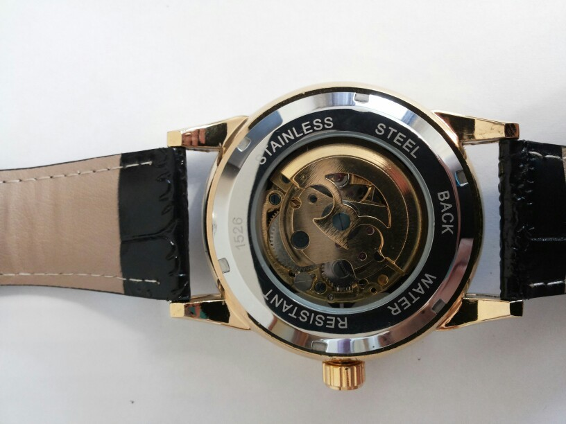 Royal Diamond Skeleton Mechanical Watch