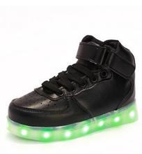 2016 Led Schoenen Kids Basket Chaussure Lumineuse Enfant Garcon Casual Boys Lighting Girls Fille Children Shoes With Light Up(China (Mainland))