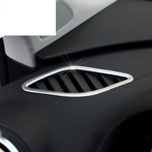 Buy Car styling Stainless steel air conditioning vents frame cover trim interior accessories air outlet strip 3D sticker Audi A3 for $11.28 in AliExpress store
