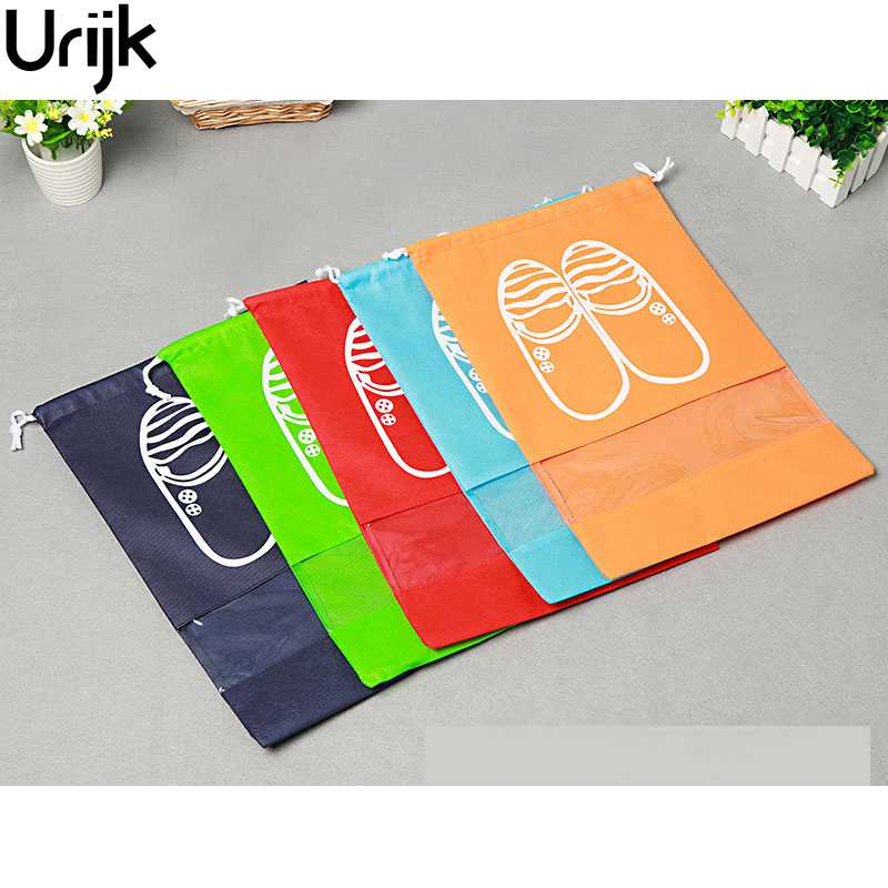 Urijk Non-Woven Febric PVC Travel Storage Pouch Multicolor Shoes Clothes Bags Container Home Storage Accessories Organization(China (Mainland))
