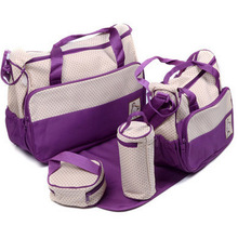 Multi function and large capacity package of mother and child in a single shoulder and trans fashion women's mummy bag(China (Mainland))
