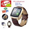 Newest Dual Core Android Smart Watch with Camera GPS 3G Wear WIFI Digital Smartwatch SIM Phone