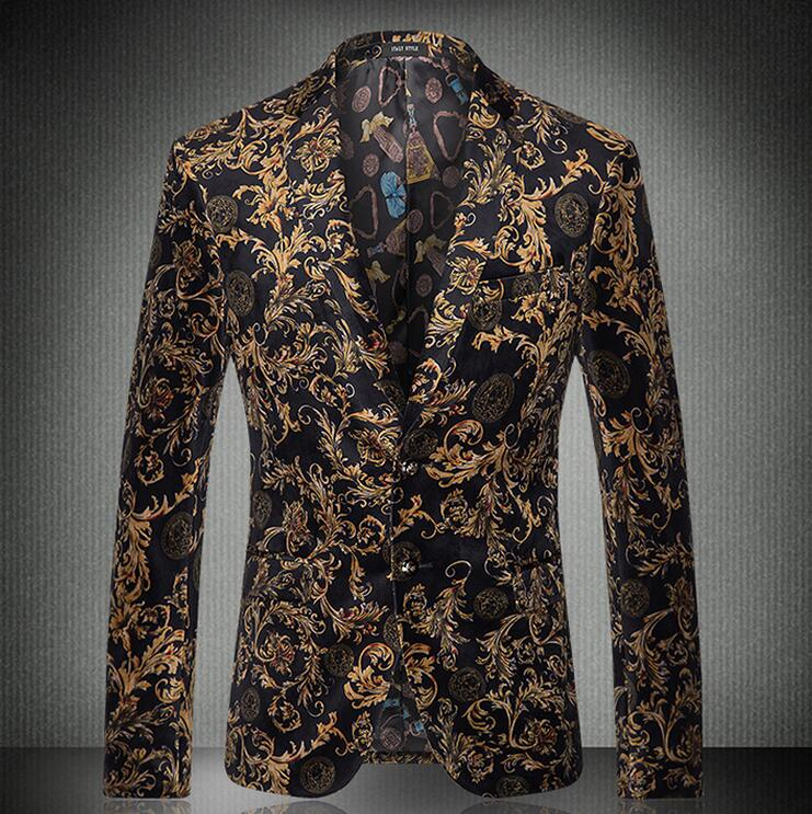 Velvet Blazer Mens Gold Blazer Homens 2016 New Arrival Men Slim Fit Suit Mens Blazer Jacket Gold Velvet Blazer Business Suit MenОдежда и ак�е��уары<br><br><br>Aliexpress