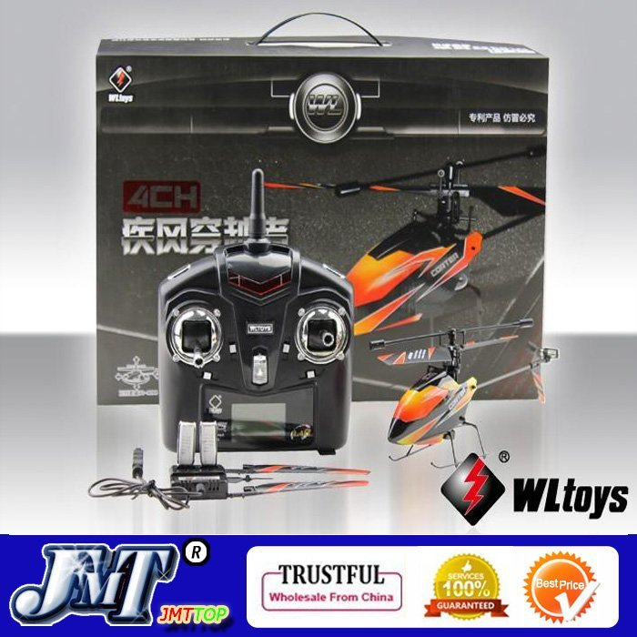 DHL/EMS/CPAM Option,WL V911 4CH 4 channel 2.4G Outdoor Mini Single Propeller Remote Control RC Helicopter Gyro RTF Heli F02412(China (Mainland))
