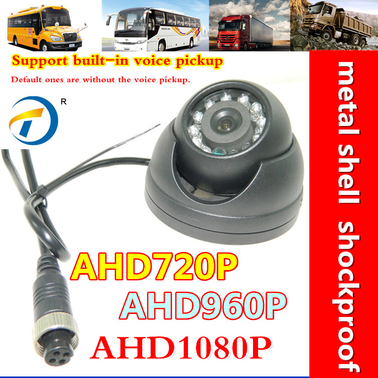 HD Ip68 Waterproof Wide Angle inside School Bus Camera With 960P 2.8mm Lens(China (Mainland))