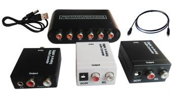 tv optischen spdif koaxial toslink digital cinch l r analoge audio konverter kopfh rerausgang. Black Bedroom Furniture Sets. Home Design Ideas