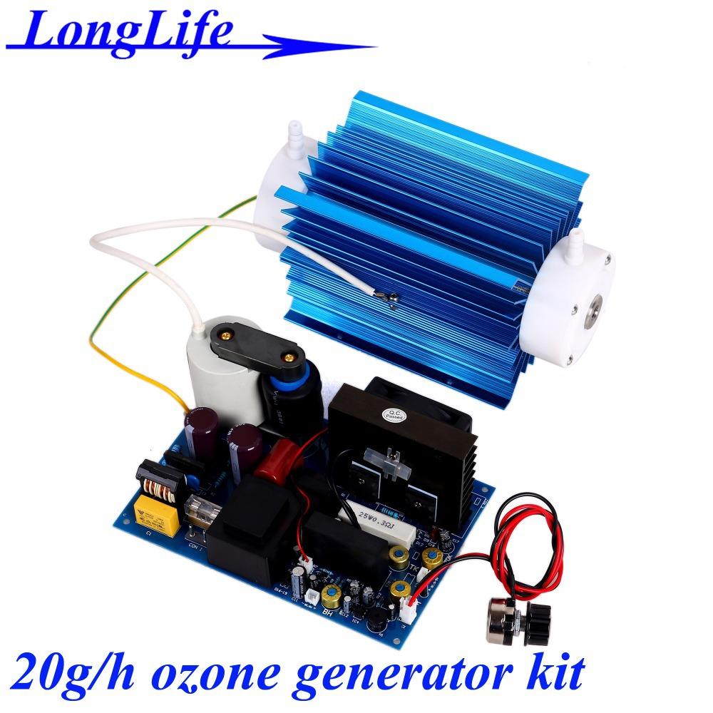 LF-11020CBOT, AC220V/AC110V 20g/h adjustable ozone generator ozone generator water air sterilizer ozonizer to eliminate odors(China (Mainland))