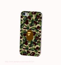 bape Hard White Cover Case iPhone 4 4s 5 5s 5c 6 6s Protect Phone Cases - Shenzhen ZhuoYou Technology Co.,LTD store