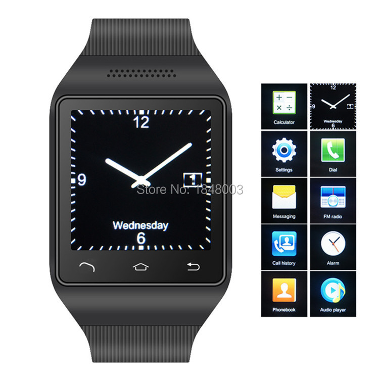 Android Smart Watch Phone Reloj Inteligente S18 Relogio Celular with 2G GSM SIM & TF card slot MP3 for samsung HTC Sony telefono(China (Mainland))