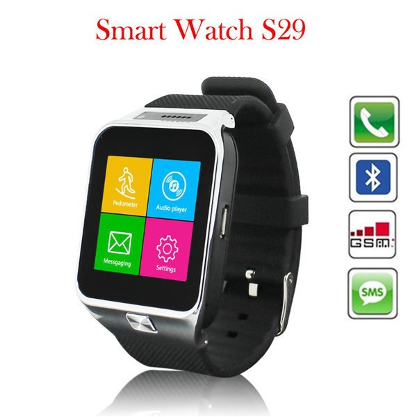 2015 new Low cost Bluetooth Watch Watch mobile phone 1.3MP camera gsm quadbank smart watch(China (Mainland))
