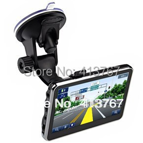 """4.3"""" inch TFT-LCD Touch Screen 4GB Car GPS Navigation Navigator with Multimedia Player /FM Radio /TF Slot(China (Mainland))"""