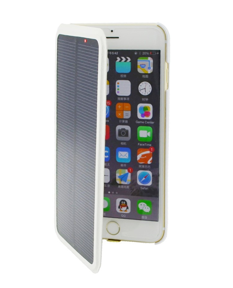 """4200mAh Solar Power External Battery Backup Power Charger case for iphone 6 plus 5.5"""""""