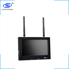 free shipping 7 inch FPV display screen aerial LCD screen snow UAV image transmission in wireless 5.8G receiver
