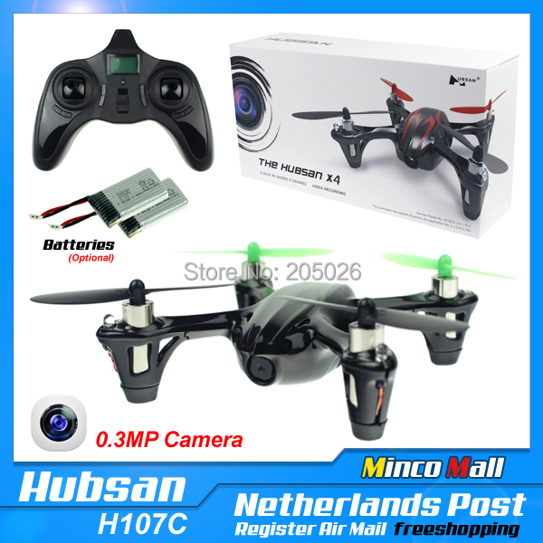 Good Quality!! Original Hubsan X4 H107C 2.4G 4CH RC Helicopter With 0.3MP Camera RTF Mini 6 Axis Gyro RC Quadcopter Toys Drone(China (Mainland))