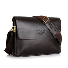 Fashion Men's Messenger Bag Pu Leather Briefcase High Quality Business Bag Male Bag Travel Business Handbag A4 Paper Holder