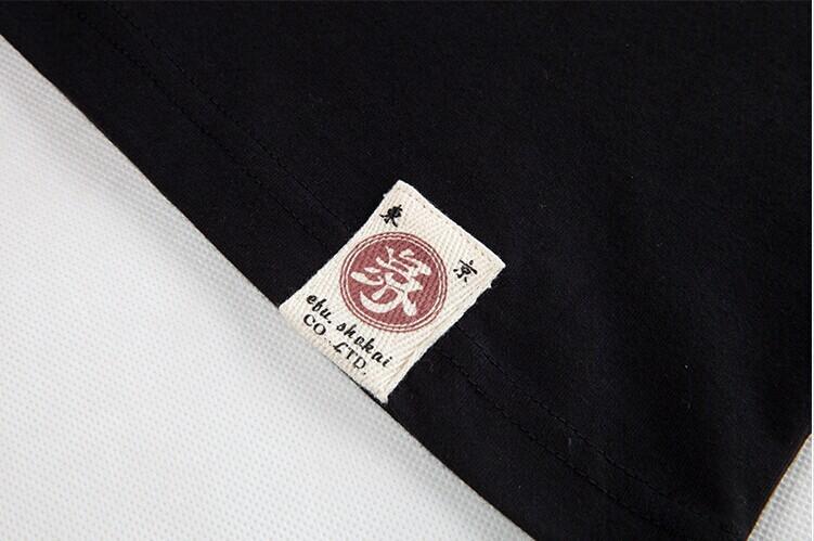 Мужская свободного покроя с длинным рукавом футболка японии карп и вишни ukiyoe искусство татуировки тонкий дизайн встроенная