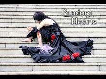New Arrival Pandora Hearts B-rabbit Alice Black Dress Cosplay Costume Any Size