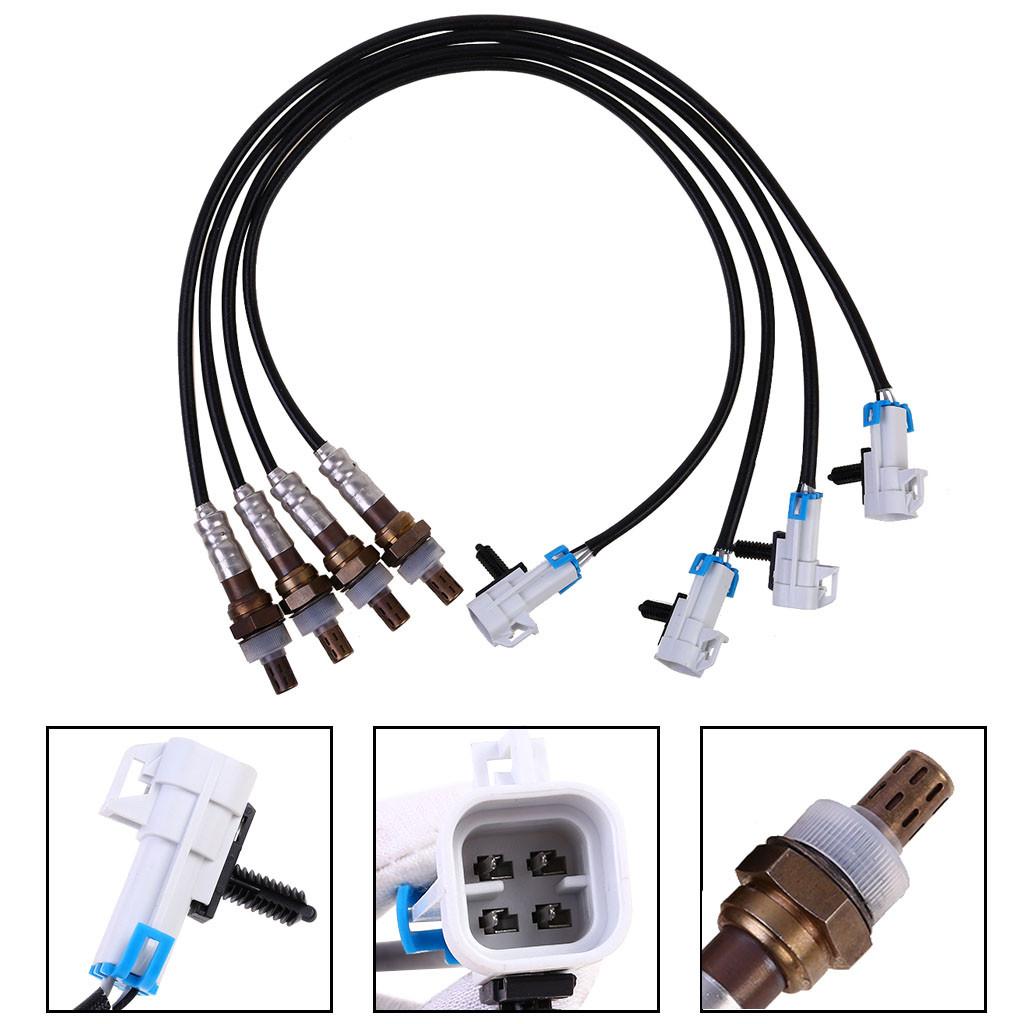 2pcs O2 Oxygen Sensor for 03 04 05 GMC Sierra 1500 5.3L 15284 SG1857