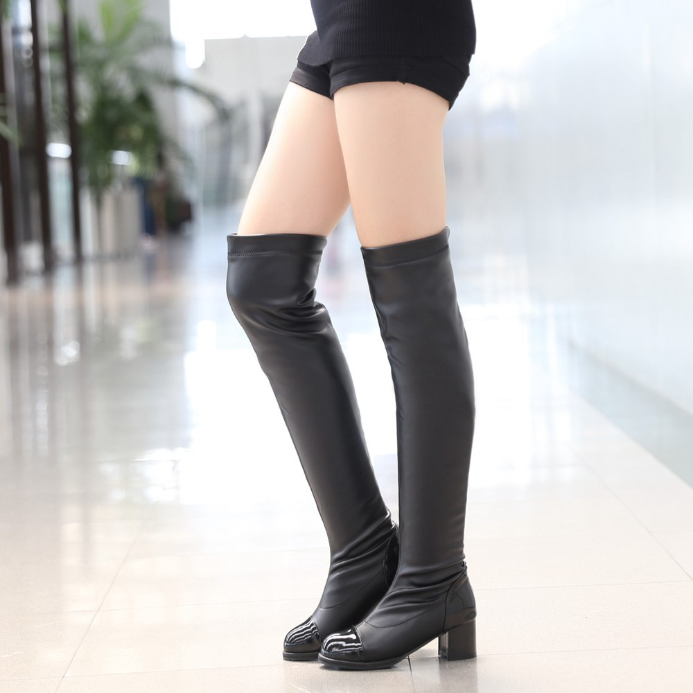 Size 12 Thigh High Boots - Boot Hto