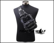 Molle Tactical Army Shoulder Bag Low Profile Bag Outdoor Travel Trekking Sport Rucksacks High Quality 1000D Nylon Waterproof Bag