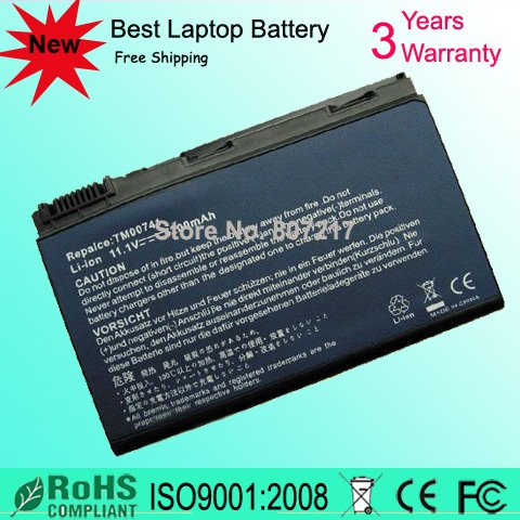 BATTERY FOR ACER TravelMate 5530 5520G 5520 5320 5220 Free Shipping(China (Mainland))
