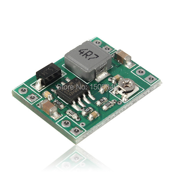 Free Shipping 5Pcs/lot Mini Buck Adjustable Step-down 3A DC-DC Converter Standard Power Supply Module Output 1.3-17V LM2596(China (Mainland))