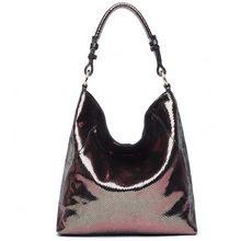 Женская сумка на плечо Arliwwi, элегантная многофункциональная сумочка из 100% натуральной бычьей кожи под змею(China)