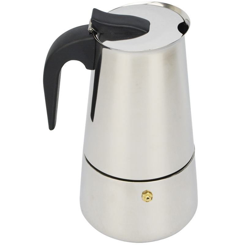 High Quality 2/4/6/9 Cups Stainless Steel Coffee Maker Moka Pot Espresso Cups Latte Percolator Stove Top Espresso Pot(China (Mainland))