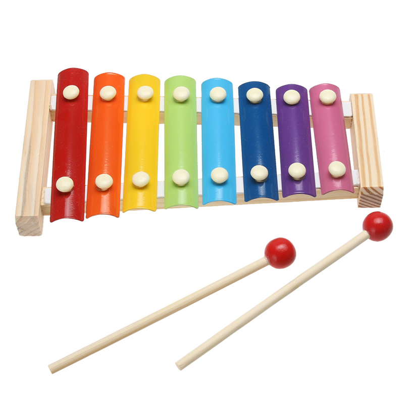 Baby Kids Toy Musical Instrument Wooden Xylophone For Children Kid Infant Playing Type Musical Toys Gift(China (Mainland))