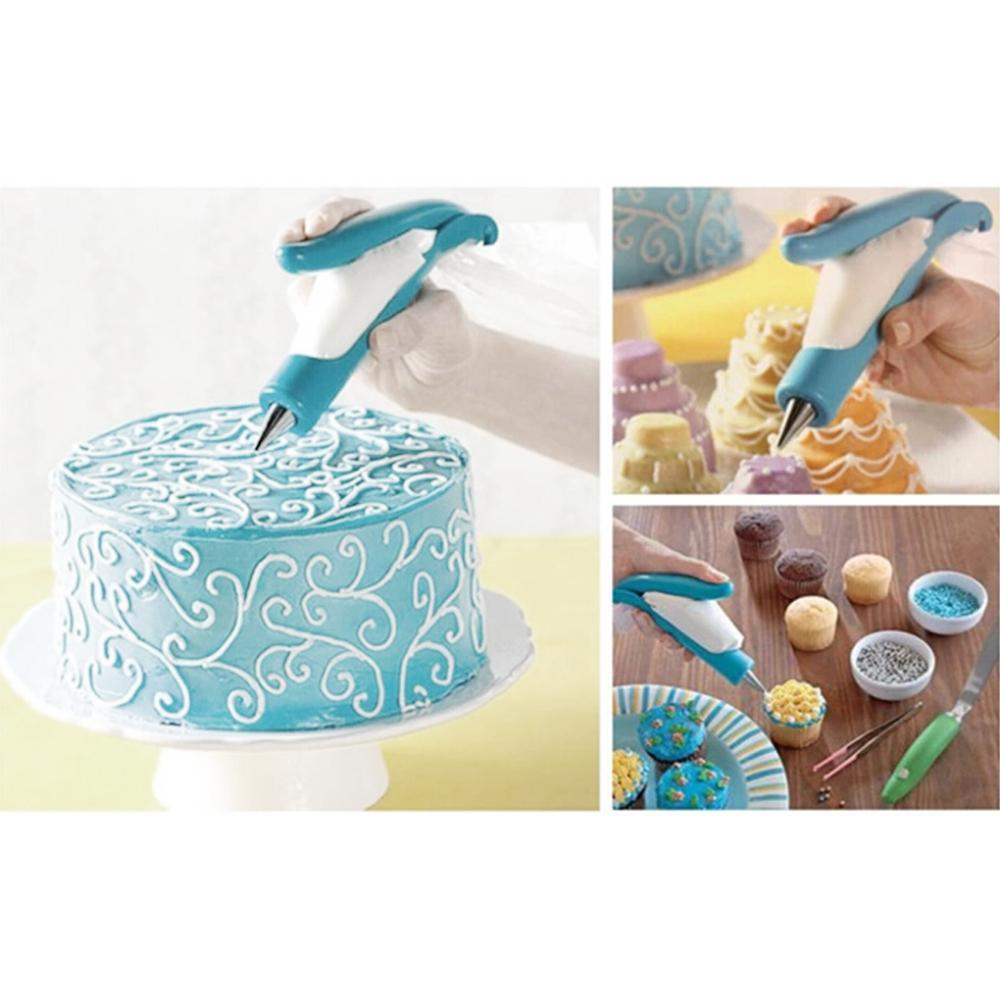 Cake Decorating Bags Homemade : High quality Dessert DIY Cream Cake Making Flowers Crowded ...