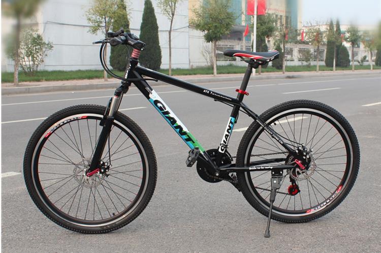 Steel Frame Mountain Bike