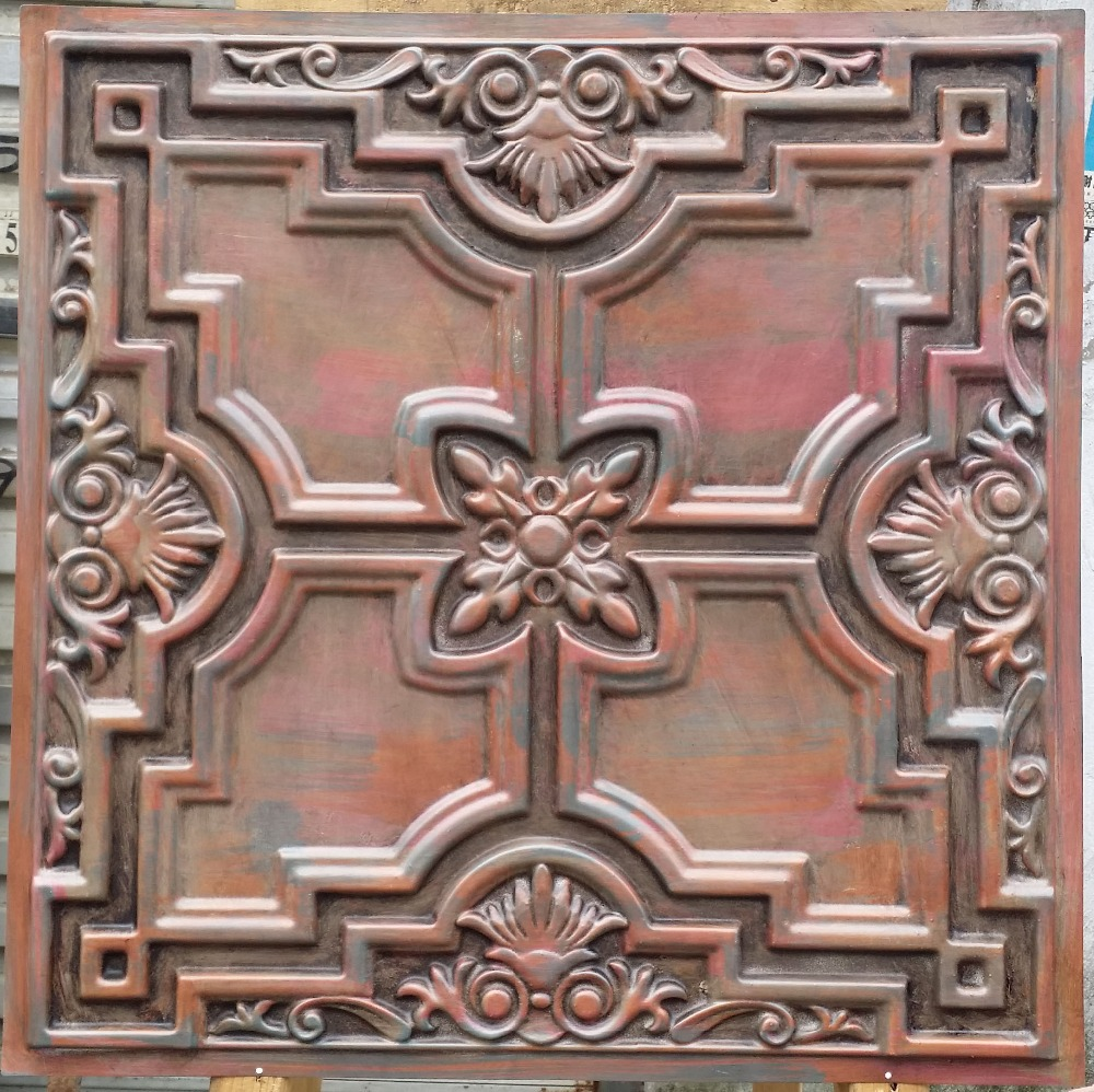 Online get cheap ceiling tiles cheap aliexpress alibaba group pl16 faux finished ceiling tiles antique muticolou dailygadgetfo Images