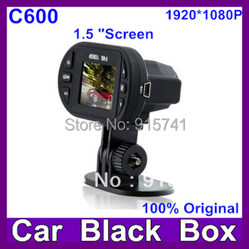 2013 Newest Full HD 1920*1080P IR LEDX12 Car Vehicle CAM Video  Camera  C600 Recorder Camcorder DVR