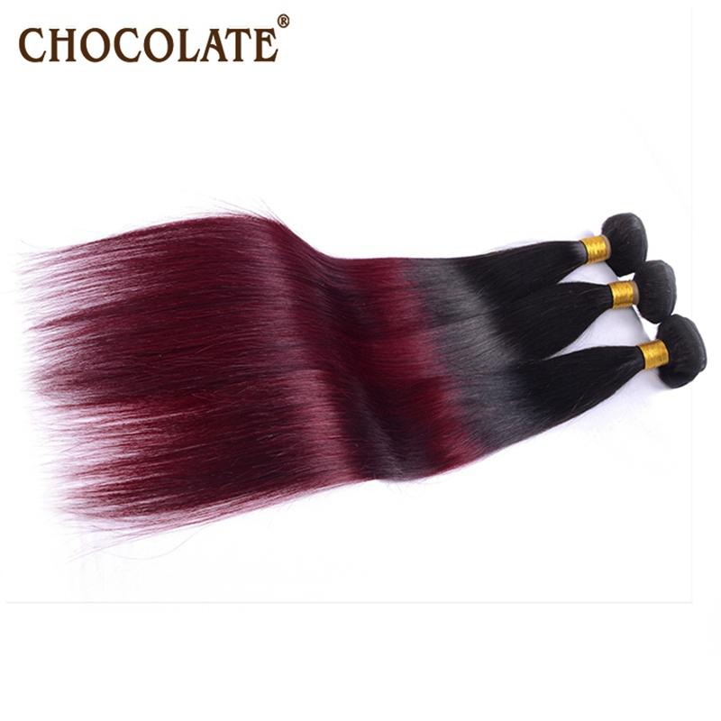 Здесь можно купить  Yumei hair products top quality 3pieces/lot natural black and burgandy 99J ombre straight Peruvian virgin hair for 2015 beauty  Волосы и аксессуары
