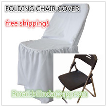 Folding Chair Cover For  Banquet Party outdoor wedding chair cover,white chair cover(China (Mainland))