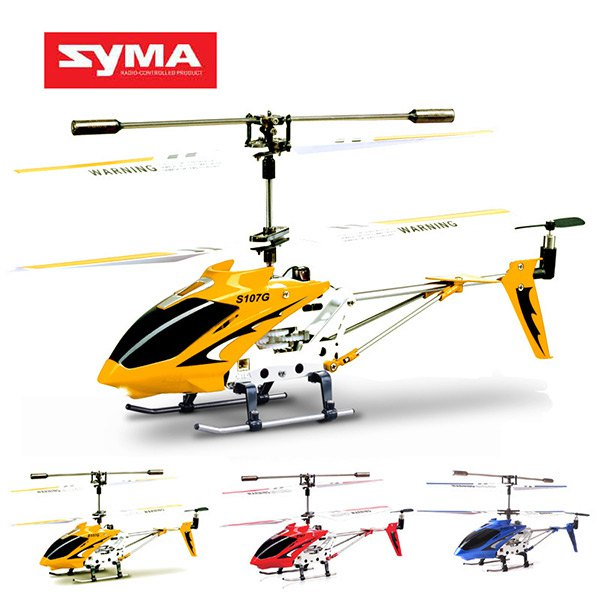 100% Original SYMA S107 S107G RC Helicopter remote control toys 3.5CH mini drone RC kids toys with GYRO(China (Mainland))