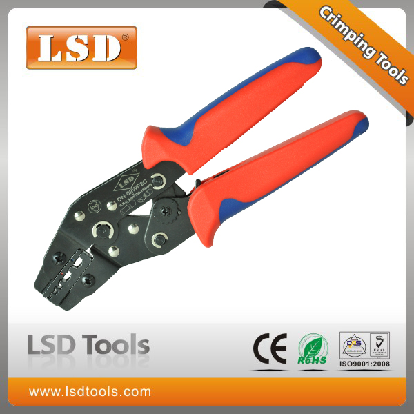 8'' hand crimping tool DN-02WF2C 0.5-2.5mm2 wire-end ferrules crimper and insulated terminal crimping tool