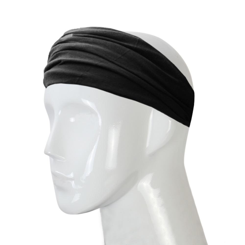 VN 2016 black hair girl casual fashion headdress with cross elastic cotton headband ladies outdoor sports travel goods(China (Mainland))