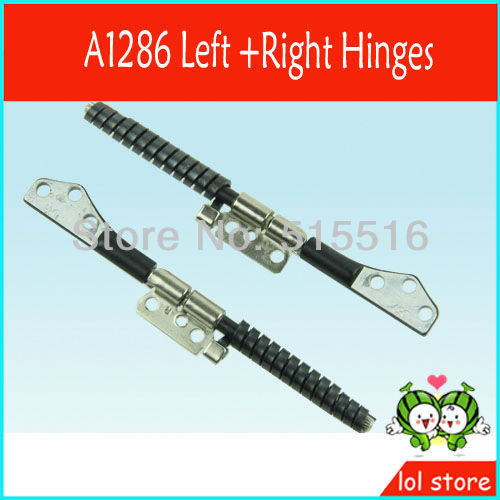 Laptop LCD Hinges for Apple Macbook Pro unibody 17'' A1297 Left & Right Side Hinge Set