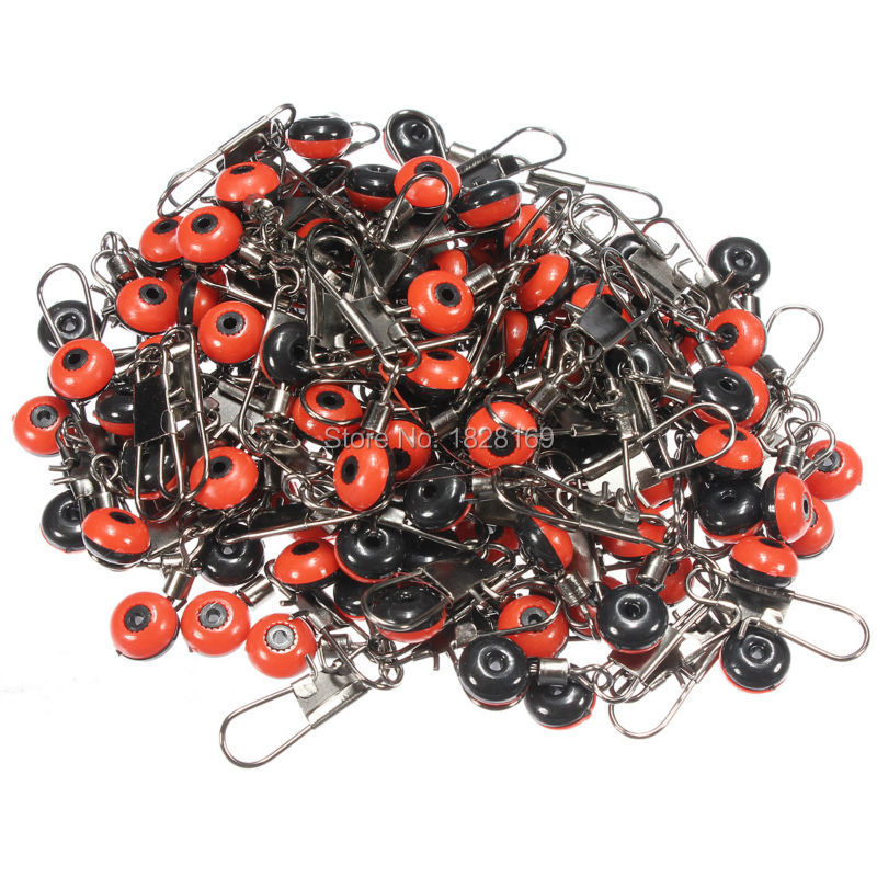 100pcs Fishing Brass Barrel Swivel Space Beans Fish Connector Solid Ring Rolling Interlock Angling Snaps Pin Tackle Tool(China (Mainland))