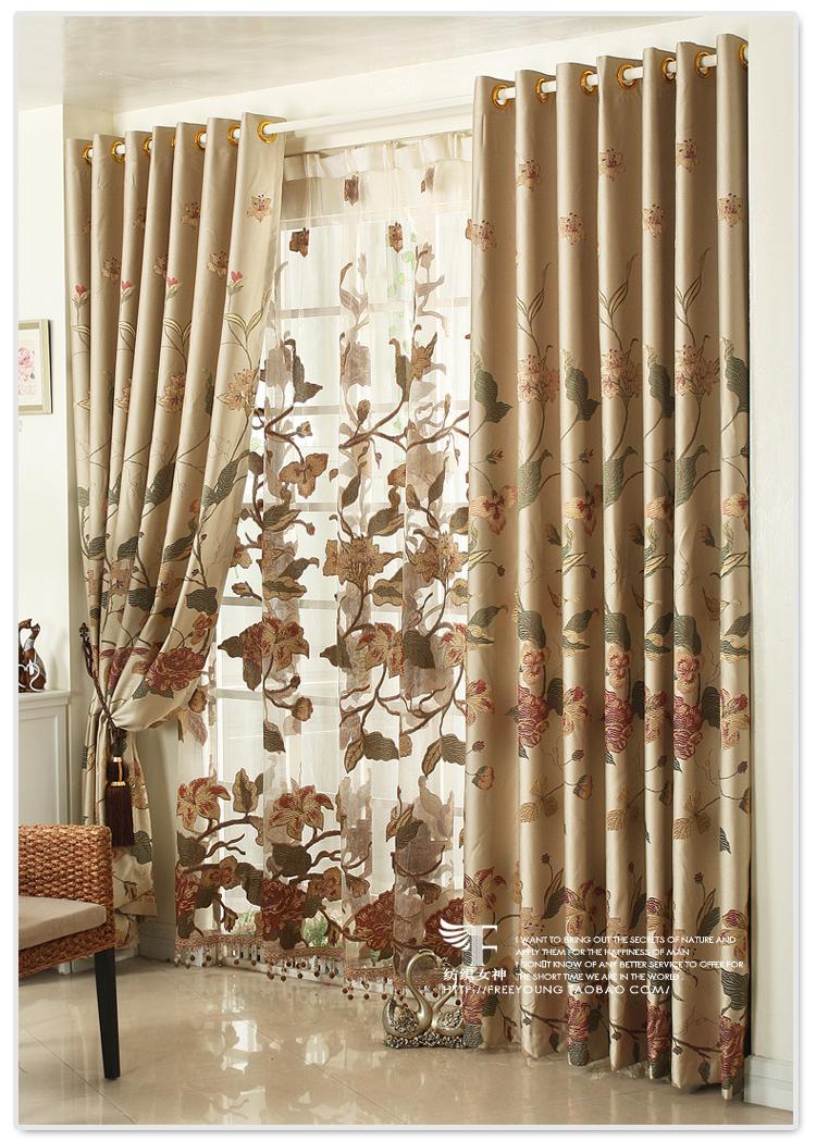 Textile Goddess European High End Custom Curtains Living