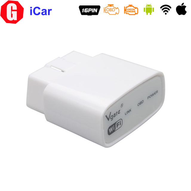 Free Shipping! Original Vgate iCar WIFI ELM327 OBD Muliscan ELM 327 For IOS Android PC iPhone iPad Car Diagnostic interface