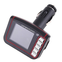 New High Quality Convenient Car LCD Kit MP3 MP4 Player Wireless FM Transmitter Modulator USB For SD MMC With Remote(China (Mainland))