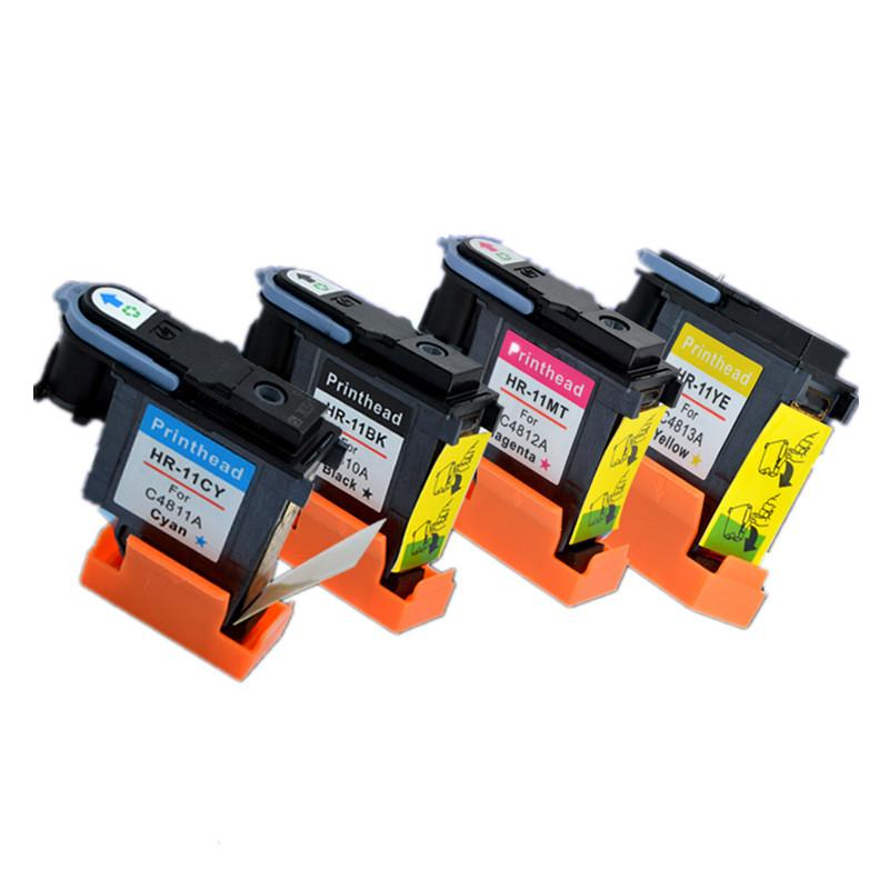 NEW For HP 11 C4810A C4811A C4812A C4813A Printhead Print head 1000 1200 2200 2280 2300 2600 2800 CP1700 100 500 9100 9120 K850(China (Mainland))