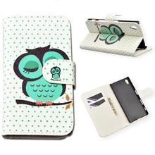 Buy Luxury Painting PU Leather Hard Case For Sony Xperia Z5 / Z5 Dual E6603 E6633 E6653 E6683 Cover Flip Wallet Phone Cases for $4.99 in AliExpress store