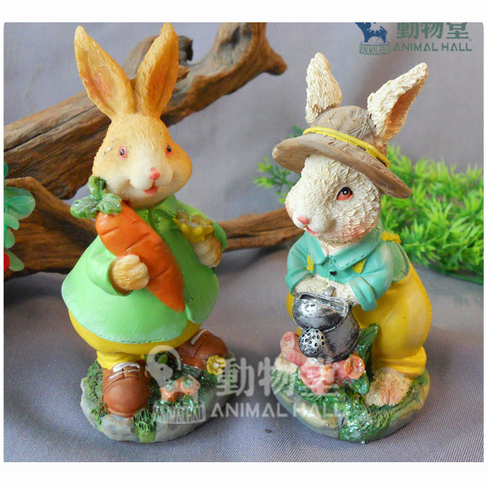 Resin crafts home holiday decoration gift easter bunny for Mr price home christmas decor