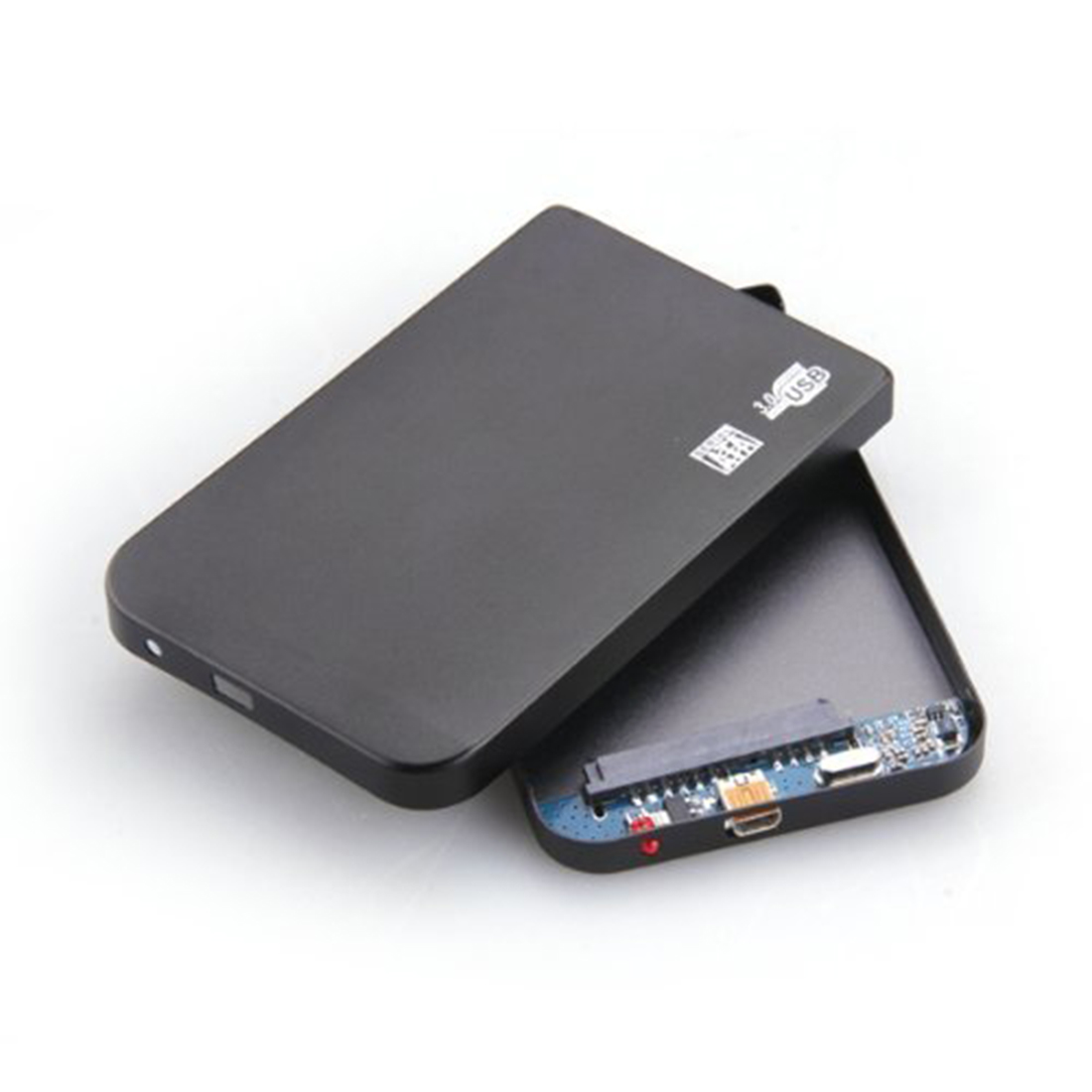 """Hot Sale New Arrive Black External Enclosure for Hard Drive Disk 2.5"""" Usb 3.0 Hdd Drives Portable Case Durable Brand New(China (Mainland))"""